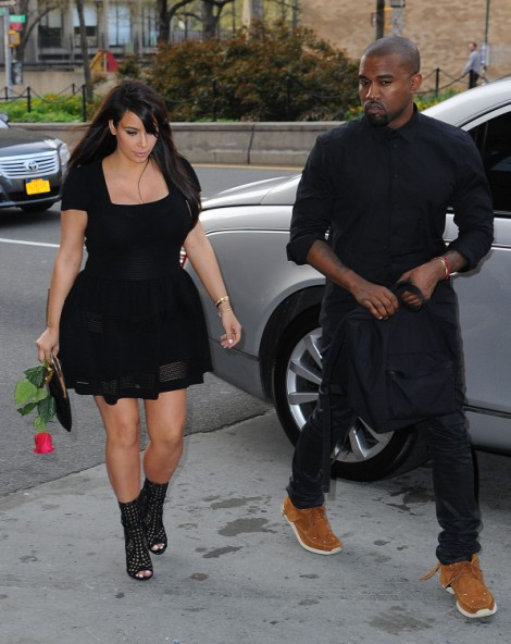 Kanye West Already Skipping Out On Baby, Kim Kardashian Devastated By Long Upcoming Tour 0626