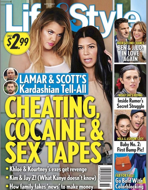 Lamar Odom and Scott Disick Penning Explosive Kardashian Tell-All $5 Million Cheating, Cocaine and Sex Tapes Book Deal?