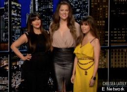 """Chelsea Lately Hosted By Kris Jenner and The Kardashian Sisters: """"F**k You Chelsea!"""" – CDL Exclusive Interview and Review"""