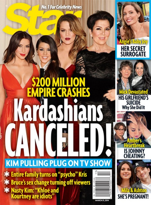 Keeping Up With The Kardashians Cancelled as Kim Pulls Plug on TV Show - Empire Crumbles! (PHOTO)