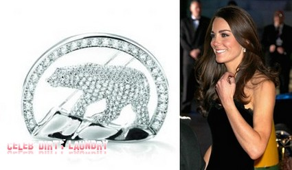 Kate Middleton Given A 302 Diamond Polar Bear