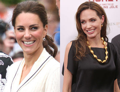 """Duchess Kate Middleton Is """"Obsessed"""" With Angelina Jolie"""