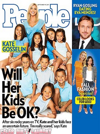 People Magazine: Kate Gosselin Worries: Will My Family Be OK?