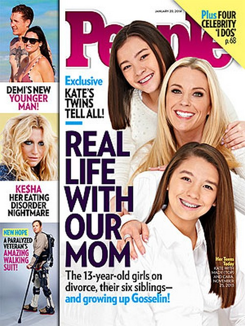 Kate Gosselin's Oldest Kids Cara and Mady Think Their Mom Is Annoying (PHOTO)