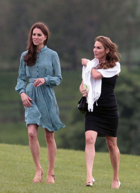 Kate Middleton Shows More Leg As She Cheers Prince William On