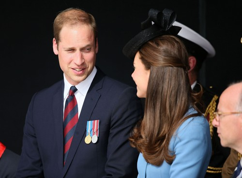 Kate Middleton D-Day Kissed By Veteran: 'Flushed Cheeks' Prince William Jealous! (PHOTOS)