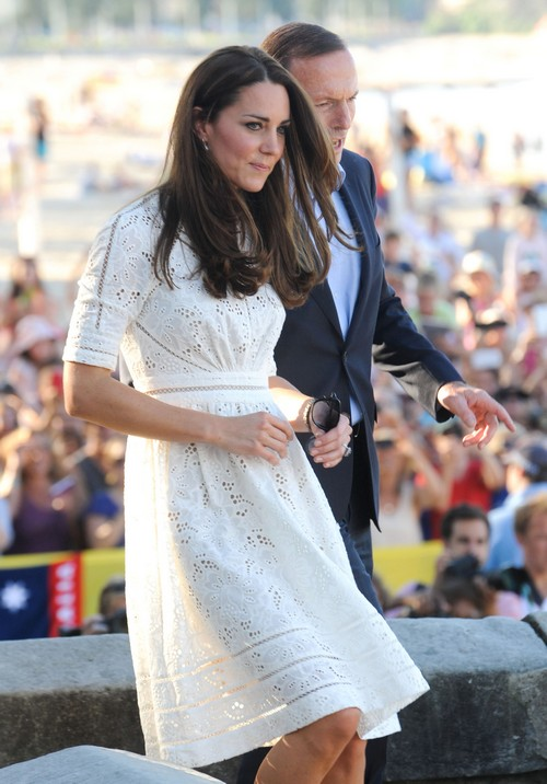 Pregnant Kate Middleton Cancels D-Day Trip To France - Twins Girl Baby Bump and Morning Sickness?