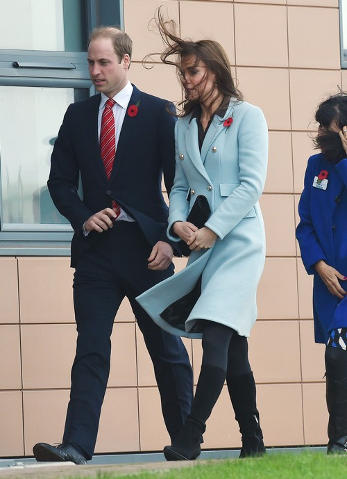 Kate Middleton, Prince William Still Appear to be Fighting During Remembrance Day and Wales Appearances (PHOTOS)