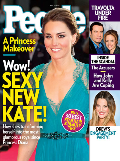 Stylish Kate Middleton Gains Confidence, Ditches The Sensible For The Sexy 0521