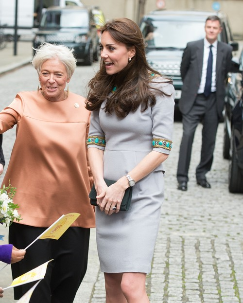 Kate Middleton Starving To Lose Baby Weight: Hiding at