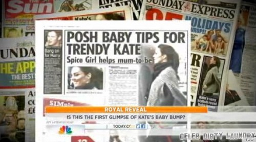 Kate Middleton's Baby Bump Finally On Display (Photo - Video)