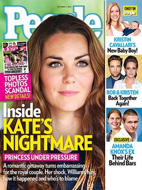 Inside Kate Middleton's Nightmare - The Queen Supports Her