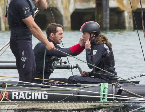 Kate Middleton Flirts With Ben Ainslie During Training Exercise: Prince William Jealous, Duchess's Crush On Former Olympian?