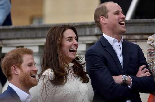 Kate Middleton and Prince William In Ceremony Marking Princess Diana's Birthday