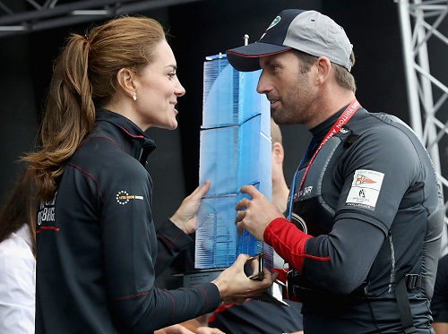 Kate Middleton Has Taken A Keen Interest In Sir Ben Ainslie