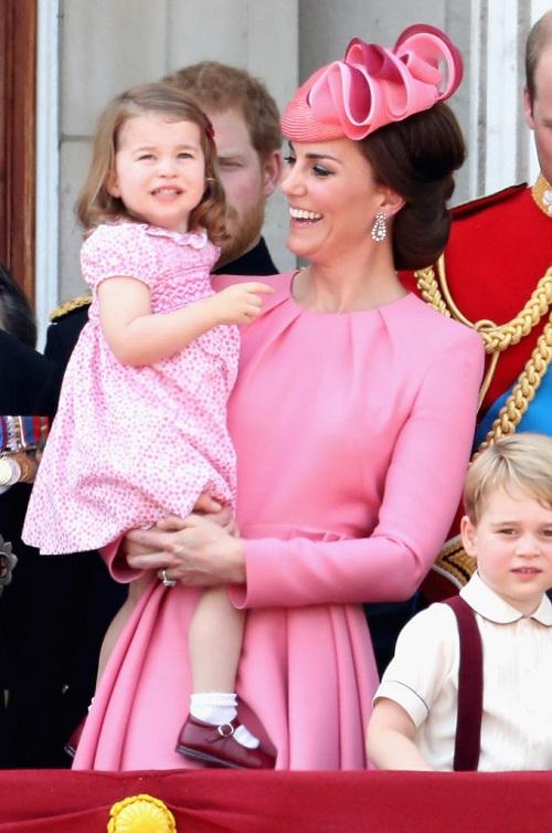 Kate Middleton's Kids Stole The Spotlight On Queen Elizabeth's 91st Birthday