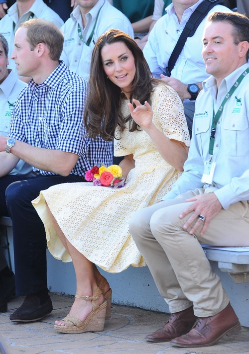 Kate Middleton Wardrobe Malfunction Forbidden By Queen Elizabeth - No Short Skirts Allowed On Australia - New Zealand Tour (PHOTOS)