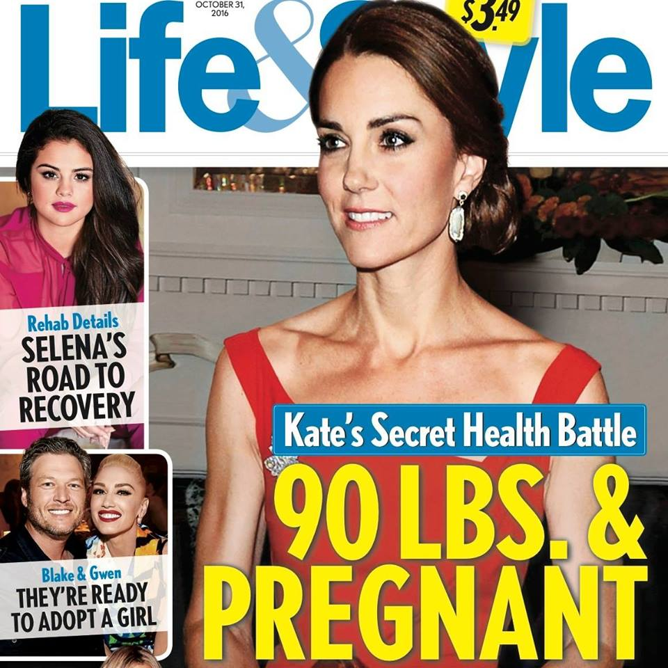 Kate Middleton Pregnant And Underweight: Duchess A Role