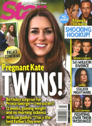 Kate Middleton Pregnant With Twin Girls - Bare Bum Scandal Forgotten? (Report Update)