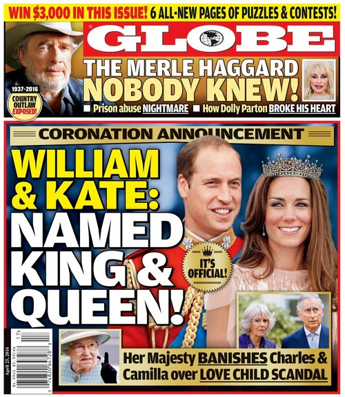 Kate Middleton and Prince William Named Queen and King: Prince Charles and Camilla Parker-Bowles Replaced Over Love Child?