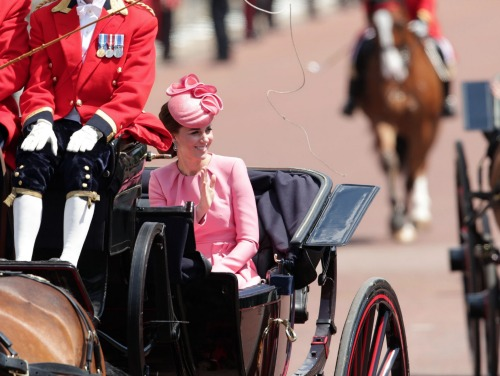 Kate Middleton Looks Annoyed: Forced to Sit Next to Camilla Parker-Bowles At Trooping the Color