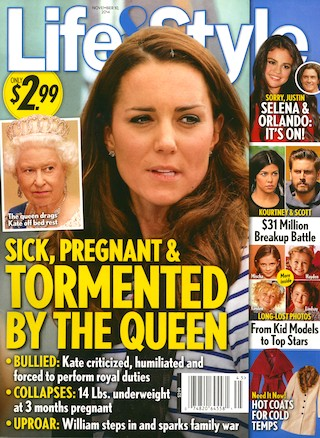 Kate Middleton Bullied and Collapses: 14 Pounds Underweight at 3 Months Pregnant - Queen Elizabeth Torments Princess? (PHOTOS)