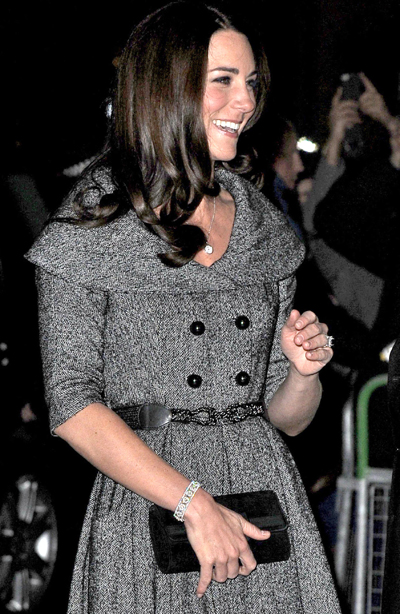 Duchess Kate Makes A Solo Appearance At The National Portrait Gallery