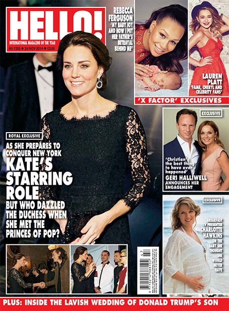 Kate Middleton Flirts With One Direction Boys At The Royal Variety Show - Prince William Watches From The Sidelines!