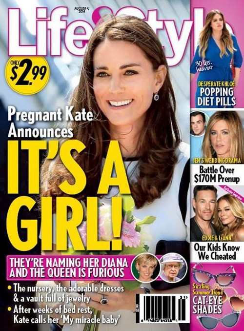 Kate Middleton Pregnant With Baby Girl: To Name Second Child Diana After Prince William's Mother (PHOTO)