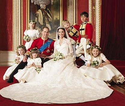 Prince William & Kate Middleton: Official Royal Wedding Pics!