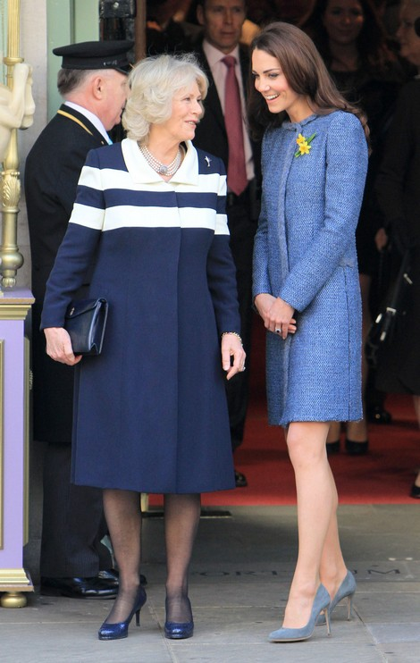 Fears Over Kate Middleton's Pregnancy Announcement - Will A Baby Drive Camilla Parker-Bowles Mad