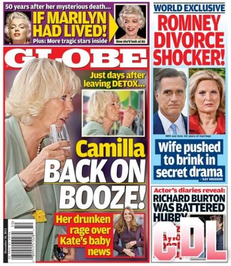 Kate Middleton's Baby News Sends Camilla Parker–Bowles on a Drunken Rage!