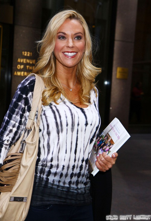 Kate Gosselin Compares Her Kids To Ducks, Desperate To Appeal To Mom Demographic To Sell Cookbook?