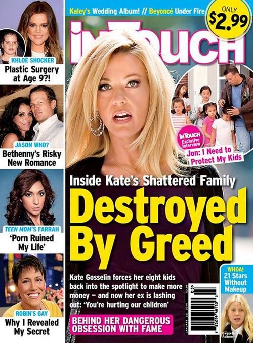 Kate Gosselin Continues Famewhoring Her Kids - Jon Gosselin Retaliates