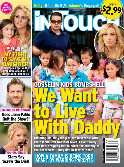 Kate Gosselin Losing Custody of Six Youngest Children: They Want To Live With Papa Jon (PHOTO)