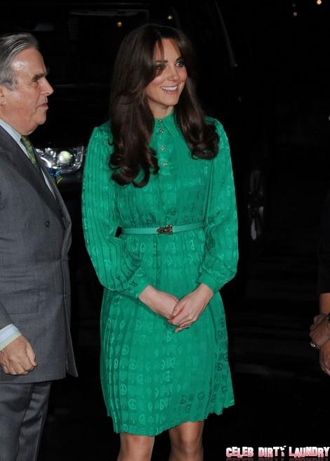 See Kate Middleton's New Farrah Fawcett Hairstyle (Photos)