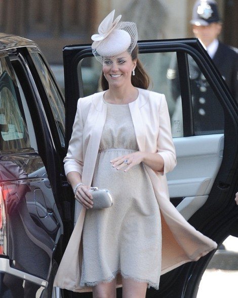 Kate Middleton's Baby Labor False Alarm Steals Show At Society Wedding 0624