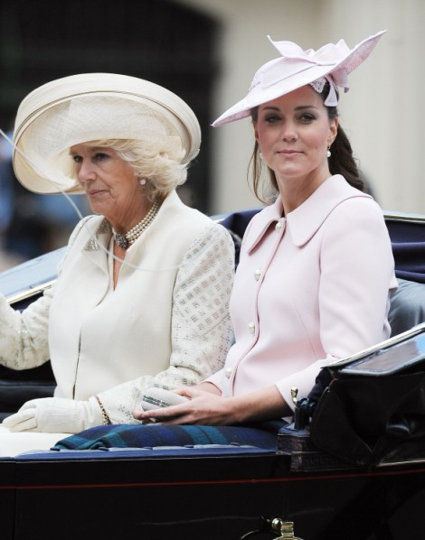 Kate Middleton Will Deliver Baby By 'End Of The Week' Claims Camilla Parker-Bowles 0715