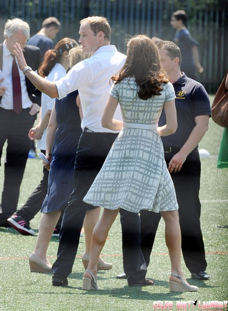 Kate Middleton Bare Crotch Photos Make Prince William Quit Royal Air Force (Photos)