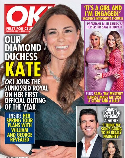 Kate Middleton Steps Out For Royal Appearance Wearing Queen Elizabeth's Bling