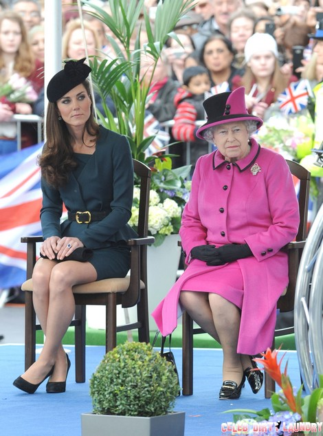 Pregnant Kate Middleton Makes First Public Appearance Since Hospital Stay