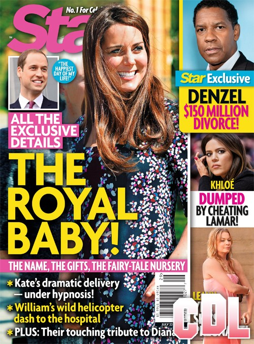 Kate Middleton's Delivery of Royal Baby Under Hypnosis (PHOTO)