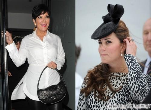 Kate Middleton and Kris Jenner Disagree Over Royal Baby Name
