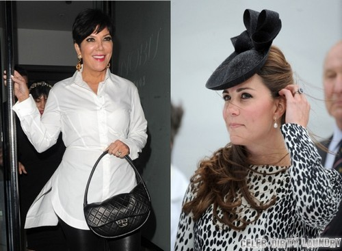 Kate Middleton and Kris Jenner Disagree Over Royal Baby Name