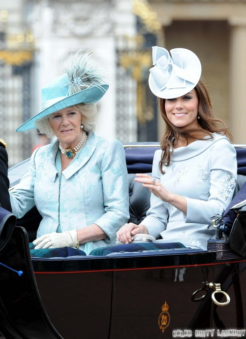 Camilla Parker-Bowles is Photographed Topless - Kate Middleton Gets Last Laugh (PHOTO)