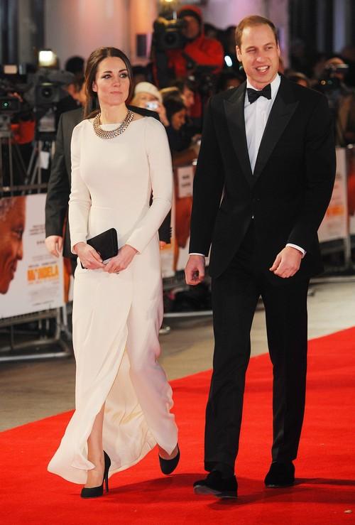 Kate Middleton and Prince William Watch 'Mandela: Long Walk To Freedom' On Eve Of Nelson Mandela's Death