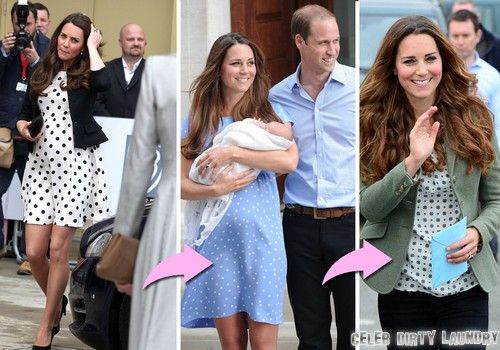 Kate Middleton Anglesey Appearance - NO MORE BABY BUMP - Duchess of Cambridge Lost All Her Pregnancy Weight (Photo)