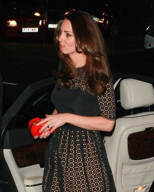 Kate Middleton Models New Hair Color At Sports Aid Fundraiser - Grey Gone! (PHOTOS)