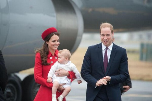 Kate Middleton and Prince William Arrive with Baby George in Wellington, New Zealand - Begin Royal Tour Amid Silly Controversy (VIDEO - PHOTOS)
