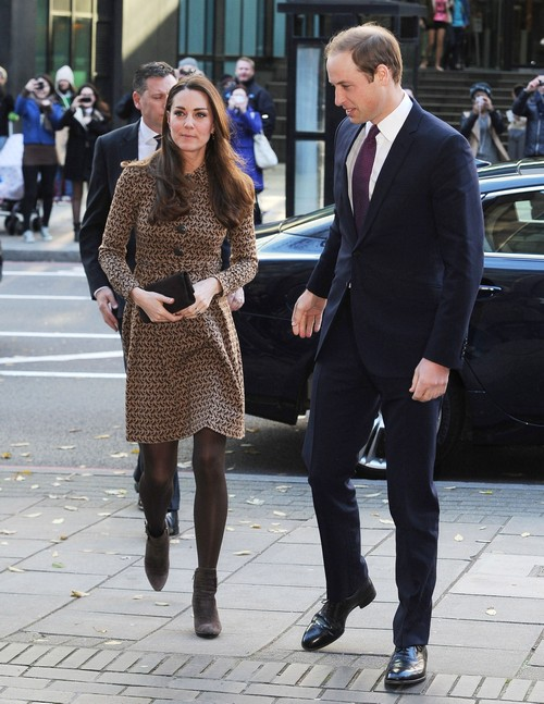 Kate Middleton Stunning and Slim for Only Connect Charity Visit - Grey Hair Gone! (PHOTOS)